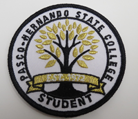 Student Patch White
