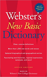 Webster's New Basic Dictionary