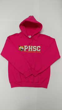 Phsc And Bobcat Logo Pullover Pink