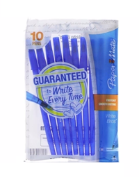 Paper Mate Pens 10 Pack Blue