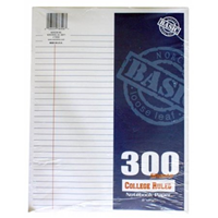 Norcom Filler Paper 300 Ct College Ruled