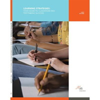 Learning Strategies: Your Guide To Classroom And Test-Taking Success
