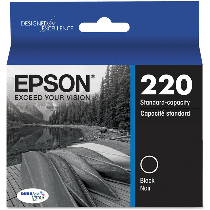Epson Printer Ink 220 Black (SKU 1010413227)