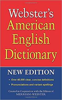 Websters American English Dictionary