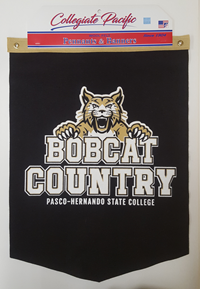 Banner PHSC Bobcat Country Black With Bobcat 18 X 24