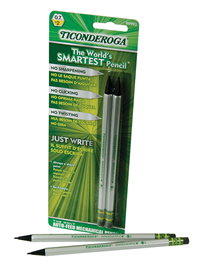 Mech Pencil Dixon 2 Ct Gray