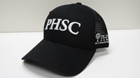 Cap Phsc Trucker Style Black With White Logo