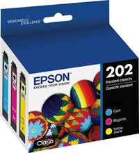 Epson Ink Color 3-Pack 202