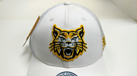 BOBCAT TRUCKER HAT WHITE