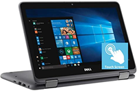 Laptop Dell Inspiron 11 Gray 3195 W/Webcam
