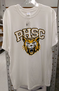 Bobcat Logo With PHSC White